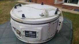 Itimat Electrical Roaster Grill Round Oven