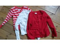 Kids dresses and cardigan bundle, age 6-8
