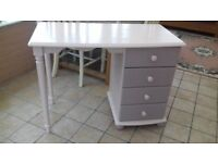 loving Painted Desk. Chair not included but can sell for £15