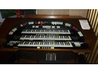 3 deck Wurlitzer organ with additional 3 sets of organ pipes