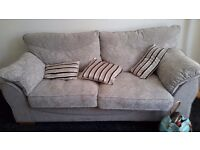 Three seat sofa and two seat sofa excellent condition £250.00