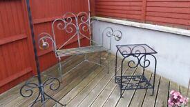 Metal furniture,cast iron style.