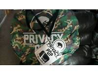 Privacy pop tent - camouflage