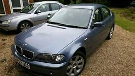 BMW 320I 2002 VERY LOW MILEAGE