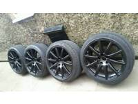 "Genuine 18"" Audi Speedline Alloys Mk2 Audi TT A3 A4 A6 VW Golf Touran T4 Seat Leon"