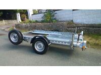 CAR TRANSPORTER TRAILER BED SIZE 9ft x 5ft 5in £1075