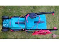 used Bosch Rotak 32 lawn mower grass cuter