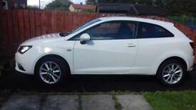 2015 White Seat Ibiza, 3dr, almost perfect condition, low mileage