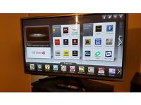 50 inch full HD lg tv with 3d wifi smart