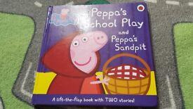 Bundle of 2 Peppa pig books