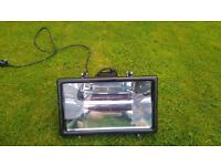 Infrared outdoor heat light never used with two spare tubes - £60