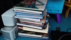 approx 15 train books all hardback £30