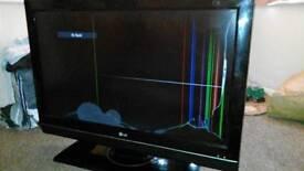 LG broken screen tv model ( 37lc55)