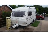 CARLIGHT 2 BERTH 1988 MINT CONDITION WITH MOTOR MOVER