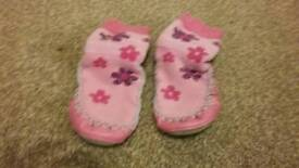 Baby Moccasin slippers