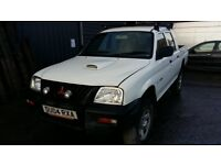 breaking white mitsubishi l200 double cab manual parts spares
