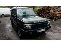breaking green land rover discovery TD5 4x4 lwb manual parts spares