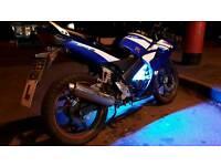 Honda 125cc R motorbike