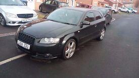 2006 Audi A3 S-line Quattro Tdi 170bhp... Swap/ px... Tastefull mods