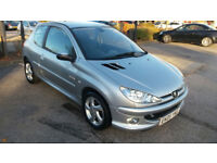 Peugeot 206 Quicksilver 1.6. Only 77000 Miles