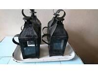 Cute tea light lanterns