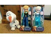 Frozen singing toys brand new