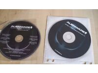 ALIENWARE LAPTOP AND DESKTOP RECOVERY CDs PACK OF 2!!!!