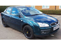 2005 55 FORD FOCUS GHIA 1.6 SALOON MOT 08/17(PART EX WELCOME) DELIVERY ANYWHERE IN UK