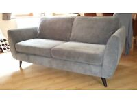 3 SEATER SOFA FOR SALE - Less than 12 months old