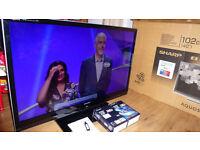 SHARP Aquos 40'' 3D LED TV LC-40LE831E black + 2 pairs 3D glasses