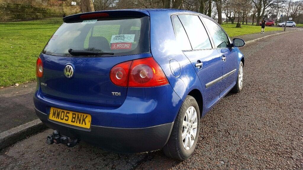 Volkswagen Golf Hatchback 1.9 SE TDI 5d 2005/05 Colour: BLUE Fuel ...
