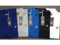 Men's Lyle & Scott polo tshirt Wholesale
