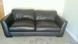 SCS Leather sofa