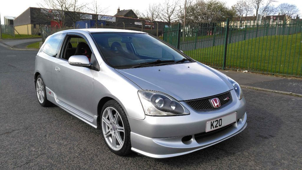 honda civic type r ep3 2 0 vtec 2004 silver in. Black Bedroom Furniture Sets. Home Design Ideas