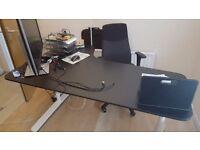 Ikea Desk BEKANT and chair VOLMAR