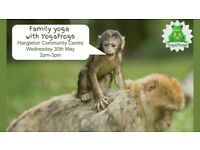 Family Yoga with YogaFrogs