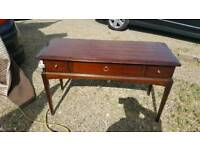 Stag minstrel 3 dr dressing table with mitrors