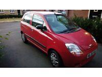 Chevrolet Matiz Car – 0.8 Litre – 12m MOT - HPI clear certificate - Cheap Tax & Ins. -Good Condition