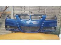 BMW 3 SERIES - E90/ E91 - MSPORT - FRONT BUMPER - COMPLETE