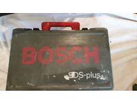 BOSCH GBH2SE CORDED 110V HAMMER SDS DRILL + SDS BITS