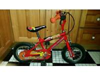 Literally new Disney lightening mcqueen bike