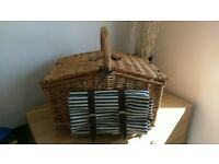NEW Luxury Picnic Basket- Perfect for Summer Days! *Hamper*