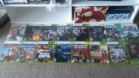 240 or best offer Xbox 360 and 8 games