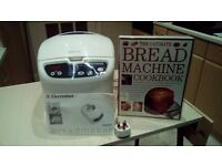 Electrolux Bread Maker with instructions and cookbook, good condition
