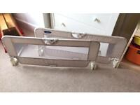 Pair of Babystart bed rails/guards