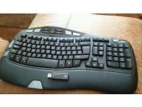 Wireless Keyboard Logitech Wave