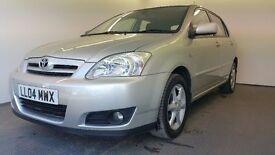 2004   Toyota Corolla Tspirit VVTI   Auto   Petrol   Service History   1 Year MOT   HPI Clear