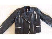 motorbike jacket 100% leather