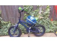 Boys Ben 10 bicycle