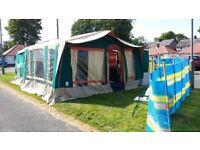 Raclet 4 Person Bermudes/Batik Traler Tent